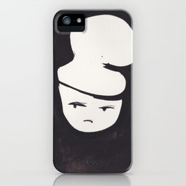Catty Does Not Approve   | 181218 Faces Watercolour Kawaii iPhone Case
