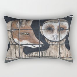 Crafty and Wise Rectangular Pillow