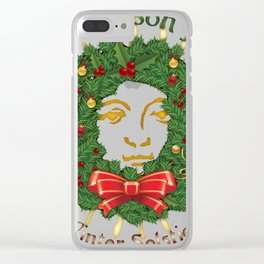 Remember The Reason For The Season - Yule Clear iPhone Case