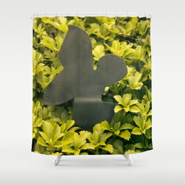 Green fairy Shower Curtain