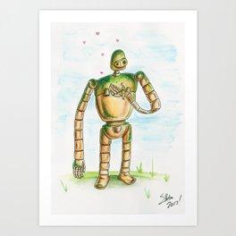 Laputa Love Art Print