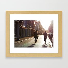 Bikers Framed Art Print