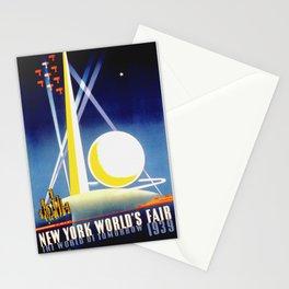 Vintage New York World's Fair 1939 Travel Stationery Cards