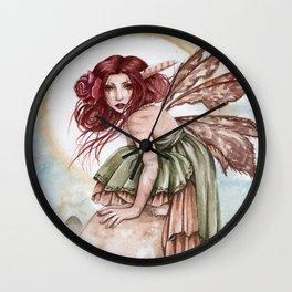 The Twilight Faerie Wall Clock