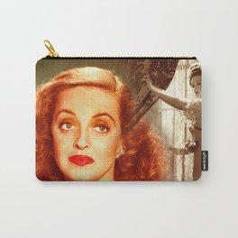 Bette Davis Collage Portrait Carry-All Pouch