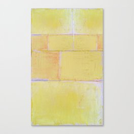 Yellow Paint Canvas Print
