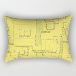 Fry Pattern - maize Rectangular Pillow