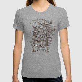 Howl's Moving Castle Plan T-shirt