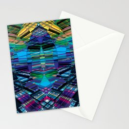 Cyber dimension Stationery Cards