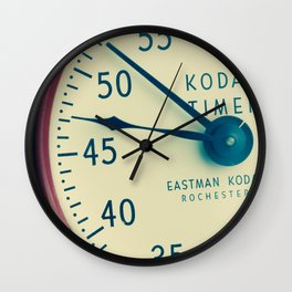Keeping Time With Kodak #Vintage Camera #Vintage Clock Wall Clock