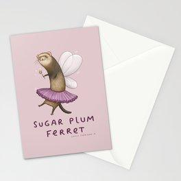 Sugar Plum Ferret Stationery Cards