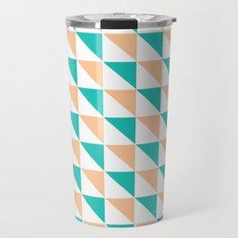 Simply Triangles Travel Mug