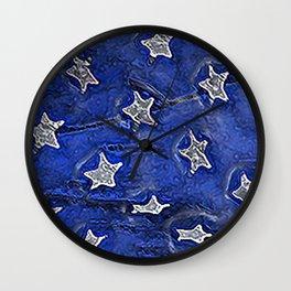 Stars and No Stripes Wall Clock
