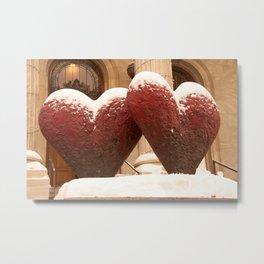 Hearts Metal Print