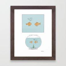 Fishbowl  Framed Art Print