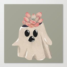 Ghost Planter Canvas Print