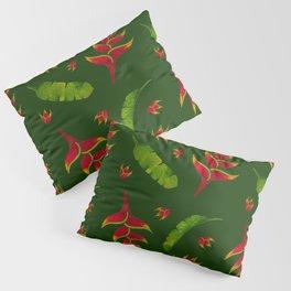 Lobster Claw Legion Green Pillow Sham