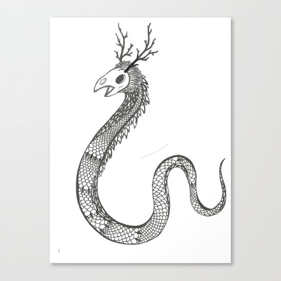 Another Monster. Canvas Print