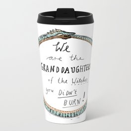 Ouroboros of the Witches Metal Travel Mug