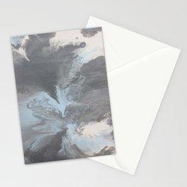 Liquid Stormy Greys Stationery Cards