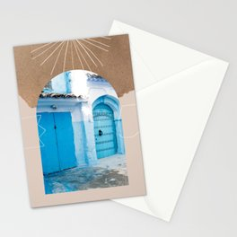 The Moroccan entrance  Stationery Cards