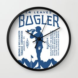 BUGLER rolling papers Wall Clock