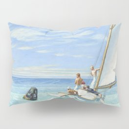 Edward Hopper Ground Swell 1939 Painting Pillow Sham