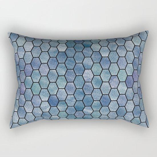 Glitter Tiles VI Rectangular Pillow