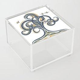 Geometric Tree Acrylic Box