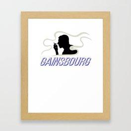 Gainsbourg's Gitanes Framed Art Print
