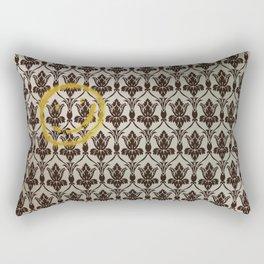 Sherlock Wallpaper Light Rectangular Pillow