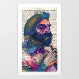 A Regular I See at the Bar Art Print