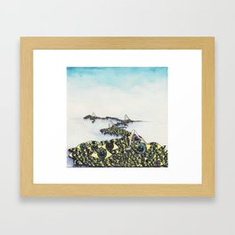 All Eye Sea Framed Art Print