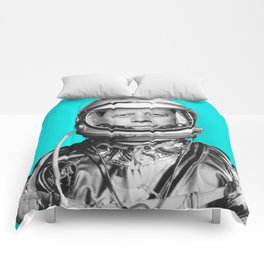 "JFK ASTRONAUT (or ""All Systems Are JFK"") Comforters"