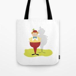 Tweedle Dee Tote Bag