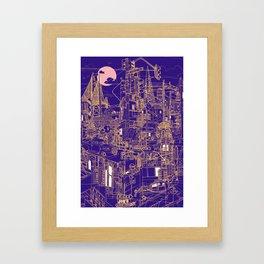 San Francisco! (Night) Framed Art Print