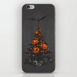 I'm Dreaming of a Dark Christmas iPhone Skin