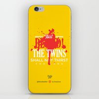 dota iPhone & iPod Skins featuring First Blood! Bloodseeker by DotaZone Store