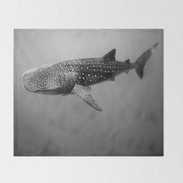 Big Fish, B & W Throw Blanket