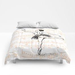 Ballerina print Comforters