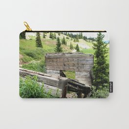 Black Bear Pass Road - Gold Rush Ore Loading Chute, No. 3 of 3 Carry-All Pouch