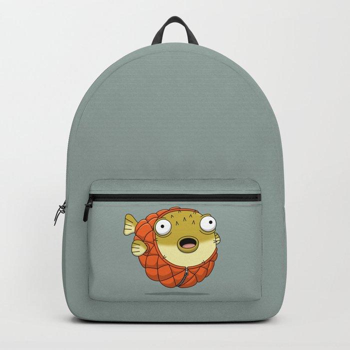 Puffer fish Backpack
