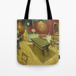 The Night Cafe by Vincent van Gogh Tote Bag