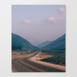Road to Nowhere in Banff Canvas Print