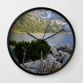 Morskie Oko in May Wall Clock