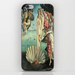 Sandro Botticelli's The Birth of Venus iPhone Skin