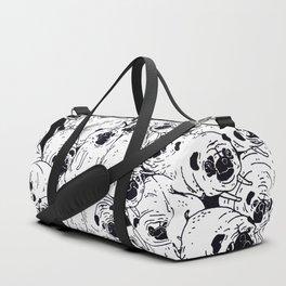 Black & White pugs Duffle Bag