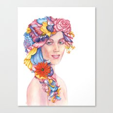Goddess : Flora Canvas Print