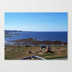 Sea View from the Watchtower Canvas Print