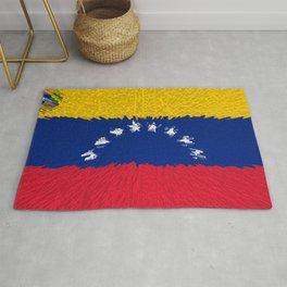 Extruded flag of Venezuela Rug